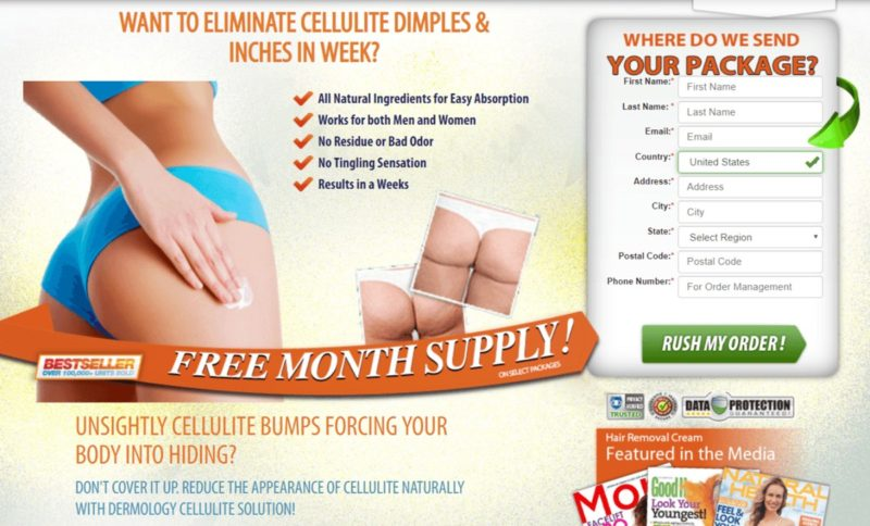 Cellulite Solution By Dermology Healthy Pro